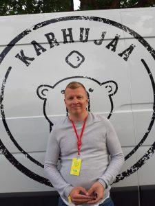 Mika Karhumaa at Ruisrock 2019