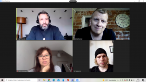 Encounters with Nando Machado and Maira Watanabe from ForMusic, Wikimetal and Vin Valentino from Delta Enigma