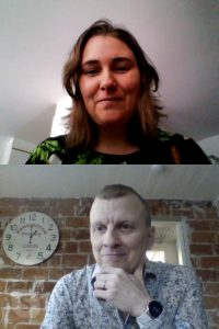 Proofreading session online with Eloise Mikkonen